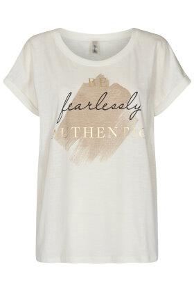 SOYACONCEPT - Sc-Babette FP 20 - T-shirt - Off White