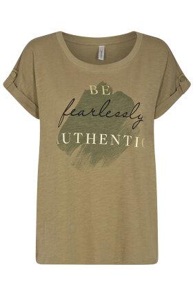 SOYACONCEPT - Sc-Babette FP 20 - T-shirt - Army