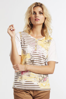 MICHA - Gul Sommer T-shirt