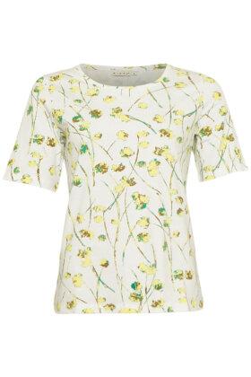 MICHA - T-shirt Med Lime Print
