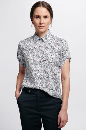 ETERNA - Elegant Sporty Skjorte - Hvid