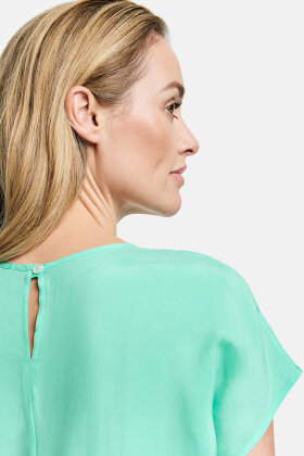 GERRY WEBER - Cupro - Bluse Top - Mint