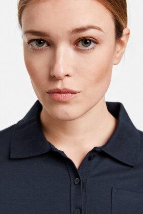 GERRY WEBER - Polo Shirt - Mørkeblå