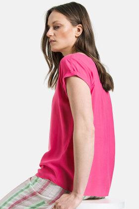 GERRY WEBER - Let Viskose Top - Pink