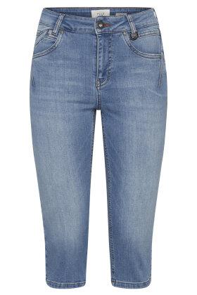PULZ - Pz Emma Capri Jeans - High Waist - Skinny - Denim
