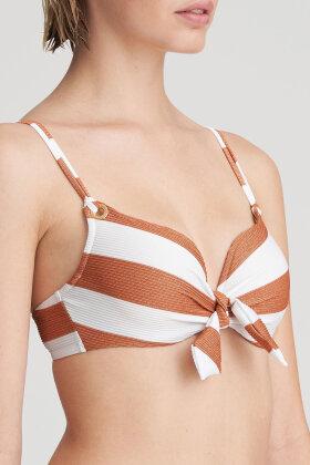 MARIE JO - Swim Fernanda - Bikini Top - Heart Shape - Padded - Bronze