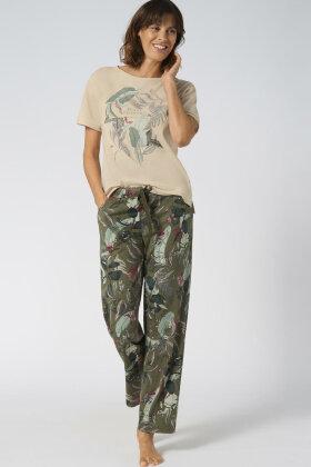TRIUMPH - Pyjamas Sæt - Print - Army Grøn