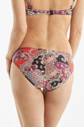 DAMELLA - Olivia Multifarvet Bikinitrusser - Tai - Orange