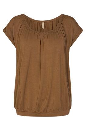 SOYACONCEPT - Sc-Marica 4 - T-shirt - Lyocell - Bronze