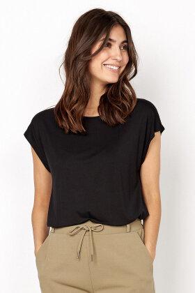 SOYACONCEPT - Sc-Marica 39 - T-shirt - Lyocell - Sort