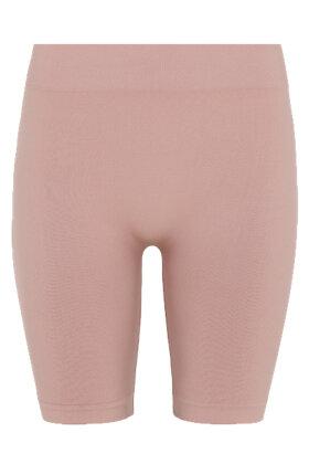 DECOY - Lange Leggings - Seamless Shorts - Rosa