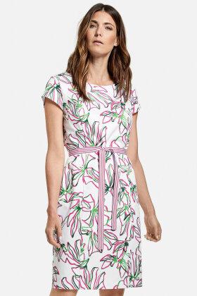 GERRY WEBER - Smart Sommerkjole - Blomstret - Pink