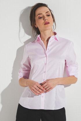 ETERNA - Skjorte - Classic Cover Shirt - Rosa