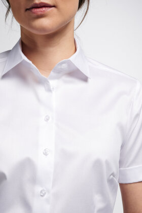 ETERNA - Cover Shirt - Kortærmet Hvid Skjorte