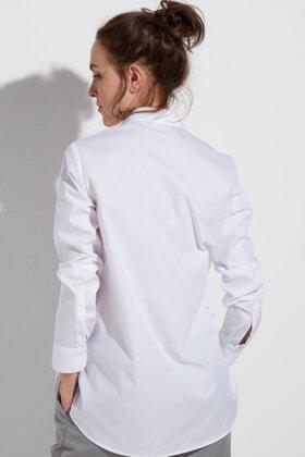 ETERNA - Boyfriend Skjorte - Poplin Vævet - Hvid