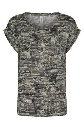 SOYACONCEPT - Sc-Galina 9 - DropDown T-shirt - Army Grøn