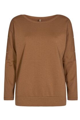 SOYACONCEPT - Sc-Rabine 1 - Langærmet T-shirt - Bronze