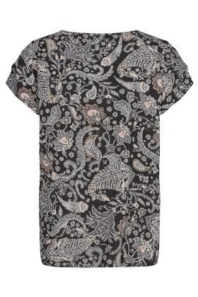 SOYACONCEPT - Sc-Sammy 29 - Print T-shirt - Sort