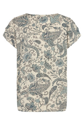 SOYACONCEPT - Sc-Sammy 29 - Print T-shirt - Blå