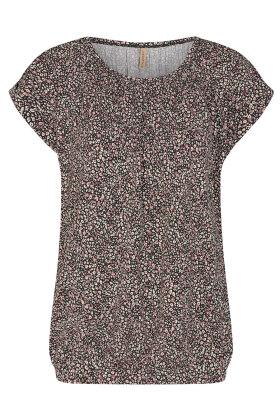 SOYACONCEPT - Sc-Marica aop 150 - Print T-shirt - Lyocell - Gl Rosa