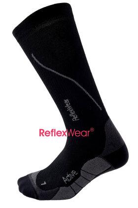 REFLEXWEAR - Sport Active Kompressions Sokker - Sorte