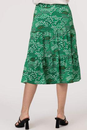 SMASHED LEMON - Print Nederdel Med Paneler - Grøn