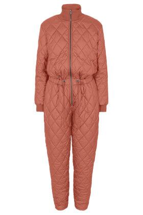 SOYACONCEPT - Sc-Fenya 8 Jumpsuit - Buksedragt - Quiltet - Rød