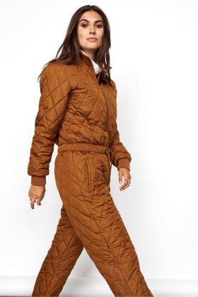 SOYACONCEPT - Sc-Fenya 8 Jumpsuit - Buksedragt - Quiltet - Brun