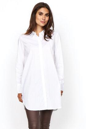 SOYACONCEPT - Sc-Tokyo 2 - Ekstra Lang Klassisk Skjorte - Hvid