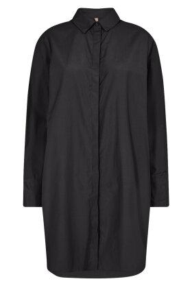 SOYACONCEPT - Sc-Tokyo 2 - Ekstra Lang Klassisk Skjorte - Sort