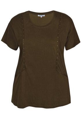 ZHENZI - Belen 016 - T-shirt - Army Grøn