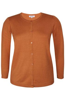 ZHENZI - Kogle 008 - Strik Cardigan - Orange