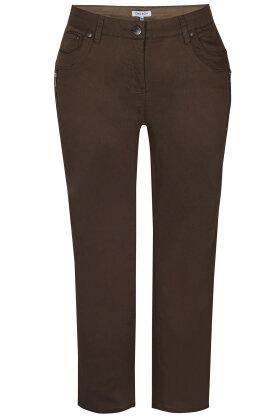 ZHENZI - Salsa 134 Jeans - Normal Fit - Narrow Leg - Army Grønne