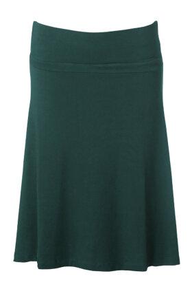 DU MILDE - Jolly Dujoleene Dark Cherry Skirt - Nederdel - Mørkegrøn