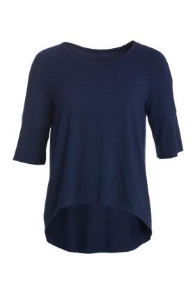 DU MILDE - DuBodilles Basic Blue - T-shirt - Mørkeblå
