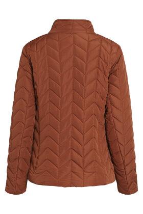 BRANDTEX - Quiltet Overgangsjakke - Polyester - Kobber