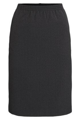 BRANDTEX - Ternet Nederdel - Mørkegrå
