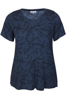 ZHENZI - Aini 448 - Viskose Pyjamas Top - Blå