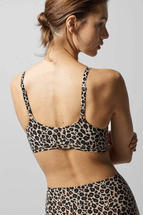 CHANTELLE - Soft Stretch Bh Top - One Size - Leopard
