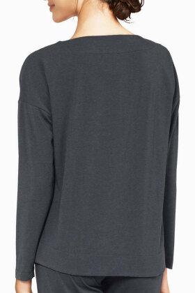 FEMILET - Luna Pyjamas Overdel - Mørkegrå
