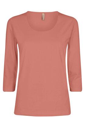 SOYACONCEPT - Sc-Pylle 175 - Basis T-shirt - Terracotta