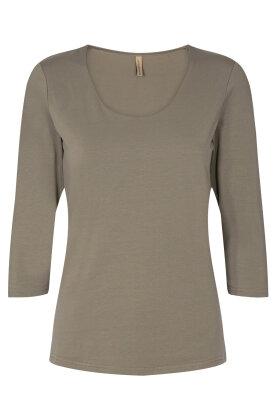 SOYACONCEPT - Sc-Pylle 175 - Basis T-shirt - Grøn