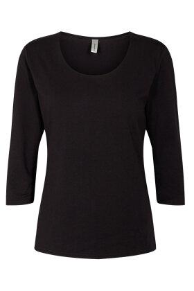 SOYACONCEPT - Sc-Pylle 175 - Basis T-shirt - Sort
