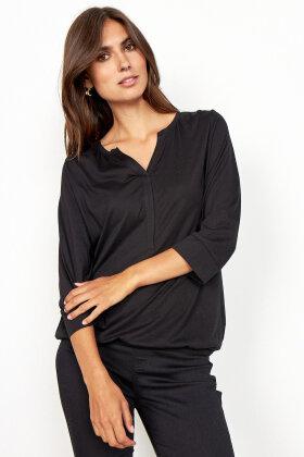 SOYACONCEPT - Sc-Felicity 345 - Basis T-shirt - Sort