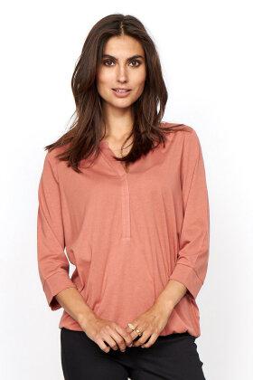 SOYACONCEPT - Sc-Felicity 345 - Basis T-shirt - Terracotta