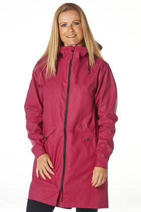WINDFIELD - Swept Rain Jacket - Regnjakker - Pink