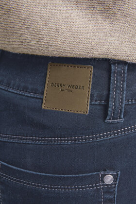 GERRY WEBER - Best4me Jeans - Slim Fit - Mørk Denim