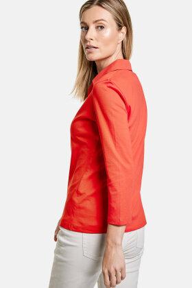 GERRY WEBER - Casual T-shirt - Prima Bomuld - Rød
