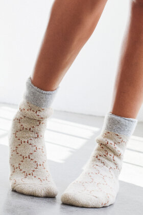 HYPE the DETAIL - Logo Cosy Socks - Hyggesokker - Sand