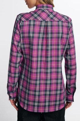 ETERNA - Ternet Oxford Skjorte - Classic Fit - Lilla